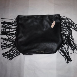 NWT Victoria's Secret Faux Leather Fringe Backpack
